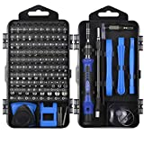 ORIA Precision Screwdriver Set (New Version), 120 in 1 Screwdriver Set with 101 Bits with Case Mini Torx Driver Kit Magnetic Electronic Repair Tool Kit for iPhone iPad PC Watch Toys Computer Jewelry
