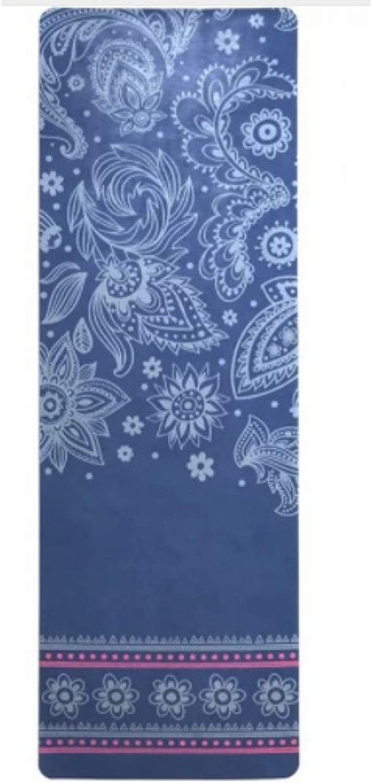 HYTGFR Yogamatte 183 cm  61 cm  5 Mm Naturkautschuk Absorbieren Schwei Umweltfreundliche Rutschfeste Gewichtsverlust Fit Gym Exercise Pad Yoga Matte