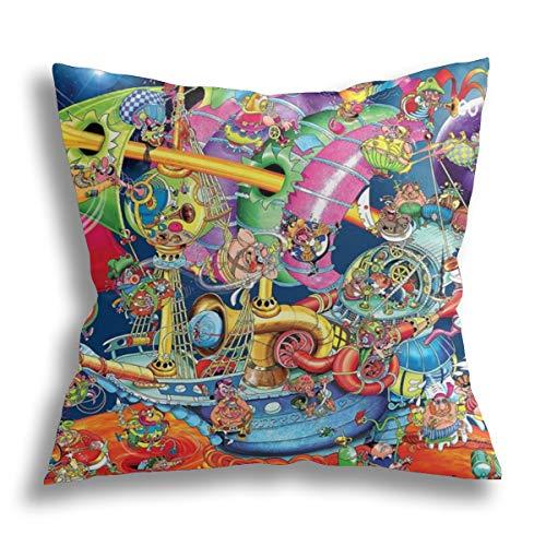 Funda de almohada decorativa para el hogar para hombres y mujeres, sofá o sillón, sofá x pulgadas, 45,7 x 45,7 cm