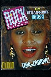 ROCK AND FOLK [No 240] du 01/04/1987 - U2 - STRANGLERS - DURAN DURAN - TINA TURNER.