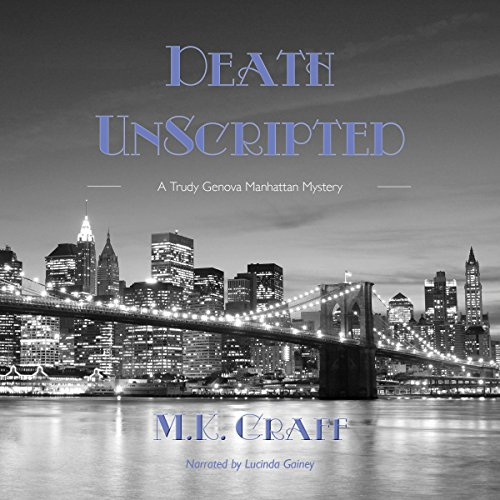 Death Unscripted audiobook cover art