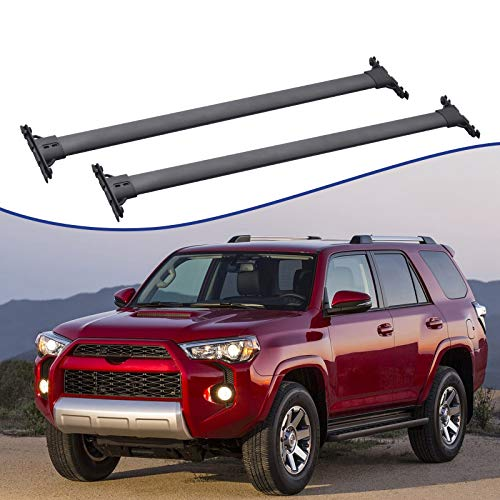 ACUMSTE Universal car top roof Rack, Cross Bar Luggage Cargo Carrier Rack Compatible with 2010-2020 Toyota 4Runner