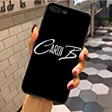 Inspired by Cardi B Phone Case Compatible With Iphone 7 XR 6s Plus 6 X 8 9 Cases XS Max Clear Iphones Cases TPU- Mousepad- Lingerie- Print- Hoddie- Hoddie- 32918702377