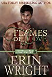 Flames of Love: A Western Fireman Romance Novel (Firefighters of Long Valley Book 1) (English Edition)