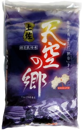 高知県 特別栽培米 3分つき 土佐天空の郷ヒノヒカリ 5kg 令和2年産
