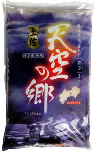 高知県 特別栽培米 7分つき 土佐天空の郷ヒノヒカリ 5kg 令和元年産