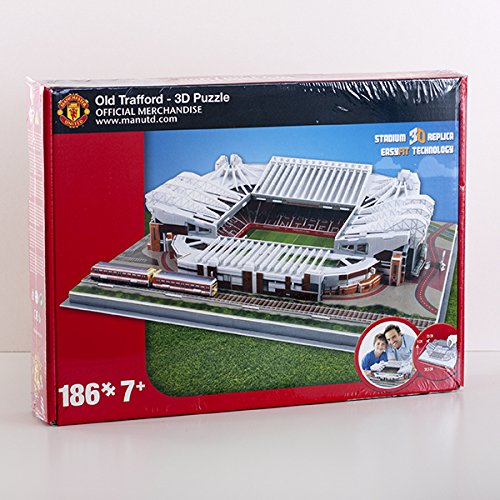 Manchester United Stadium 3D Puzzle | Old Trafford is one of the most famous football stadiums in the world and home to hugely successful football club Manchester United