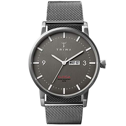 TRIWA Klinga Men's Minimalist Dress Watch – Luxury Wrist Watches for Men, 38mm