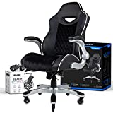 NOUHAUS Velour Office Chair Velvet Computer Chair with Retractable Armrest with Bonus Blade Wheels. Swivel Game Chair for Gaming Desk! Ergonomic Gaming Chair or Racing Gamer Chairs for Adults