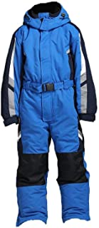 One-Piece Snowsuit with Reflective Stripe,Waterproof Windproof Taslon