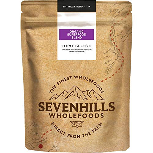Sevenhills Wholefoods Revitalise Organic Super Berry Powder Blend 150g