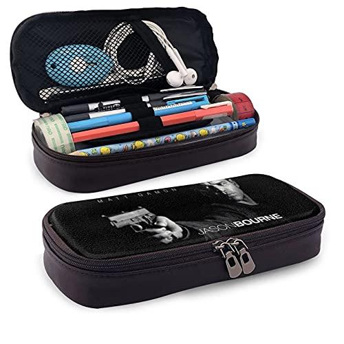 The Bourne Legacy - Estuche para lápices de gran capacidad, bolsa de maquillaje para adolescentes y escuelas