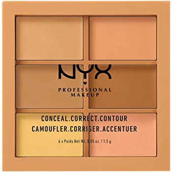 Paleta de correctores Nyx Professional Makeup, Tono Medium