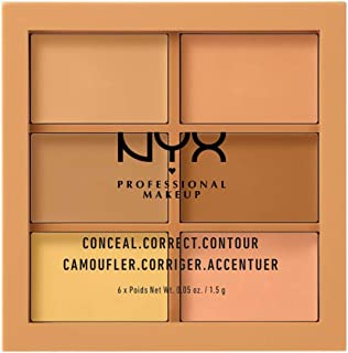 NYX Cosmetics Conceal, Correct, Contour Palette 3CP02 - Medium
