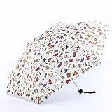 Paraguas colgante Forma de muñeca Regalo para niños Impermeable Anti-UV Parasol a prueba de viento P...