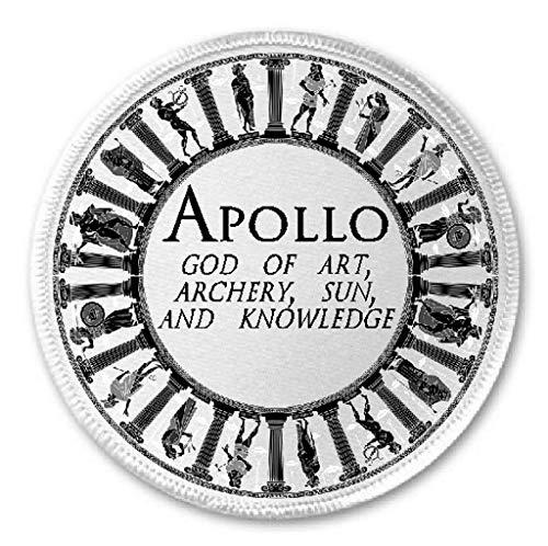 Apollo God of Art Archery Sun Knowledge - 3' Sew/Iron On Patch Mythology Greek