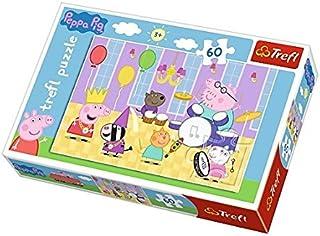 Puzzle Swinka Peppa na balu 60