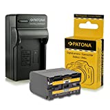 Caricabatteria + Batteria NP-F970 NPF970 per Sony Camcorder Sony...