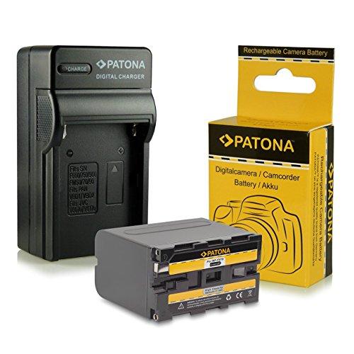 3in1 Ladegerät + Akku NP-F970 NPF970 für Sony Camcorder Sony CCD-TR Series | CCD-TRV Series | Sony DCR-TR Series | Sony DCS-CD | Sony MVC-FD Series und weitere…