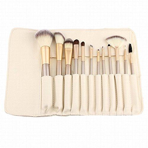 LZYMSZ 12 piezas Set pinceles maquillaje profesional
