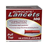 Advocate 30G Pulltop Lancets (100 Count)