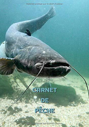 Carnet de pêche: Silure - 101 pages - 7x10 pouces -...