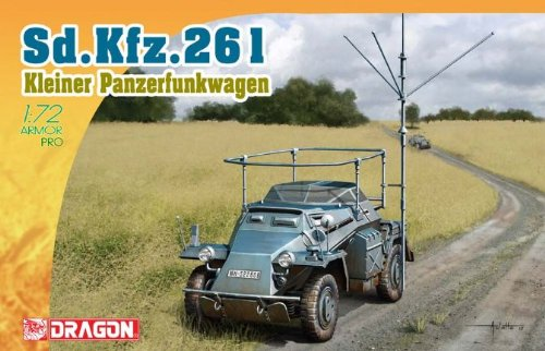 Dragon 500777447–1 : 72 SD. Kfz 261