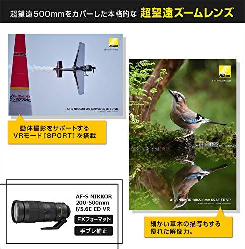 Nikon望遠ズームレンズAF-SNIKKOR200-500mmf/5.6EEDVR