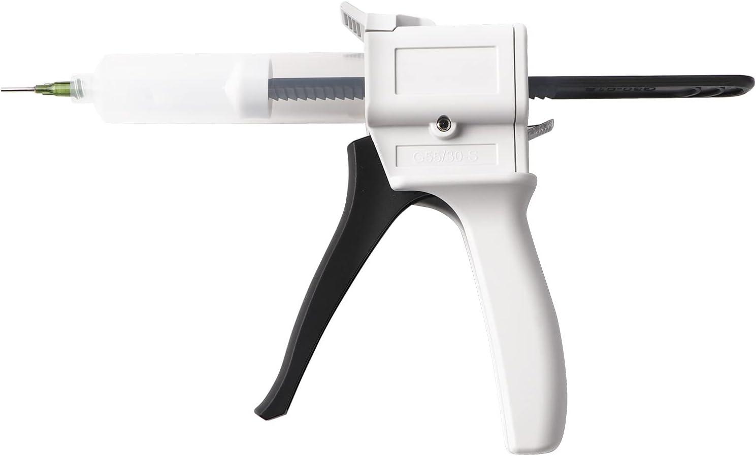 Dispenser Under blast sales Gun Kit,30ml Glue Max 70% OFF Plastic Manual Si