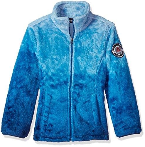 Reebok Girls' Active Outerwear Jacket,Dip Dye Monkey Navy,14/16