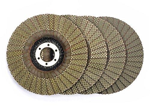 5 Inch Flap Disc Grinding Sanding Wheels,Diamond Abrasive Flap Disc for Granite Marble Glass Hard Material