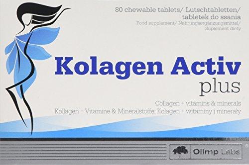 Olimp Kolagen Activ Plus N 80 with Added Calcium, Magnesium, Vitamins C and B6