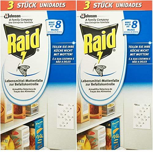 Preisvergleich Produktbild 2 x 3 Raid Lebensmittelfalle Mottenfalle
