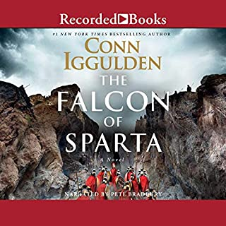 Falcon of Sparta                   By:                                                                                                                                 Conn Iggulden                               Narrated by:                                                                                                                                 Pete Bradbury                      Length: 12 hrs and 35 mins     62 ratings     Overall 4.4