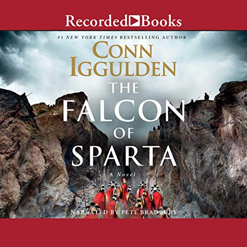 Falcon of Sparta audiobook cover art