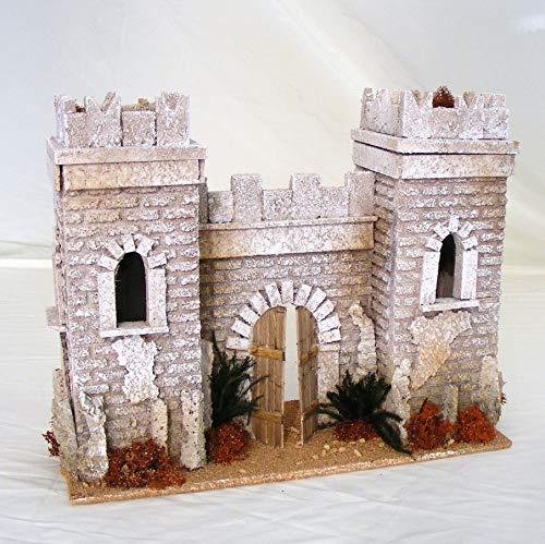 De Sisinno Facciata Castello Arabo per presepe H25x12x30 cm