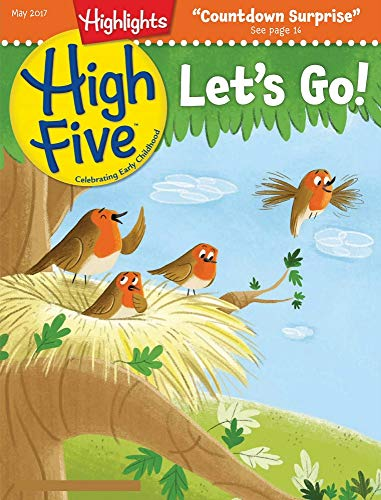 Highlights High Five May 2017: Classic children's picture books (English Edition)