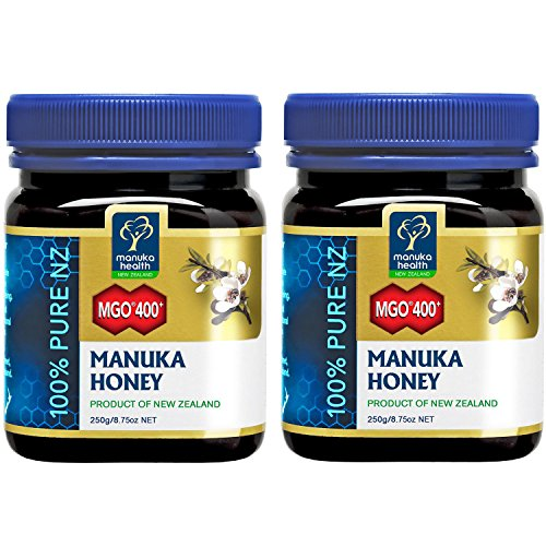 Miel Manuka mgo 400+ 2x 250g doble Pack