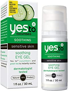 Best Yes To Cucumber Soothing Eye Gel, 1.01 Fluid Ounce Review