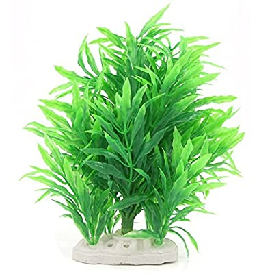 Jardin Artificial Water Plant Decoration for Fish Tank, Green