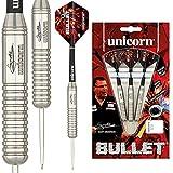 Unicorn Bullet Stainless Steel Gary Anderson Dardos, Unisex Adulto, Plata, 22 g