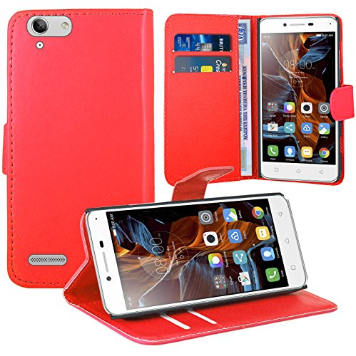 Lenovo K5 Handy Tasche, FoneExpert® Wallet Hülle Flip Cover Hüllen Etui Ledertasche Lederhülle Premium Schutzhülle für Lenovo K5