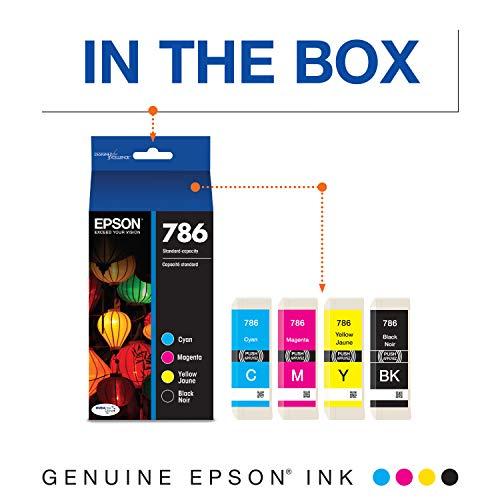 Epson T786120-BCS DURABrite Ultra Black and Color Combo Pack Standard Capacity Cartridge Ink, Black, Cyan, Magenta, Yellow Photo #8
