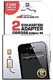 G-TELWARE GDSGS8/ 2 Jahre Garantie!/ Mehrsprachig/Zifferncodefähig/Dual SIM DualSIM Adapter Karte...