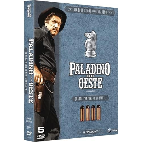 Box DVD Paladino Do Oeste - Quarta Temporada Completa