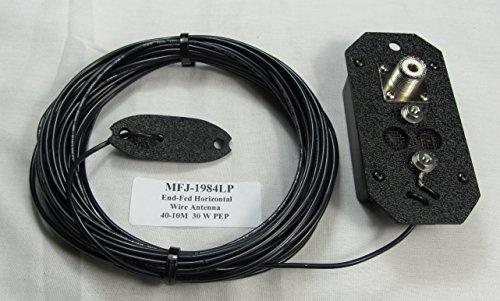 MFJ-1984LP EndFed 1/2 Wave 30W 40M-10M Wire Antenna