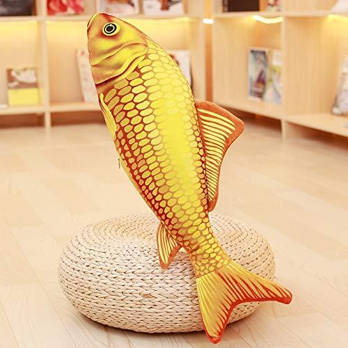 Simulated Carp Pillow Goldfish Pad Stuffed Plush Fish Toy Carp Sleeping Pillow For Children's Birthday For Christmas