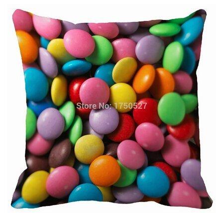 Alexander Color Chocolate mármol Custom Home manta decorativa Funda de almohada cuadrado con cremallera lateral doble impresión