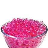 Trimming Shop Wasser Bälle Silikon Kugeln für Pflanze Vase Füller Dekoration, Mittelstücke, 500stk - Rosa