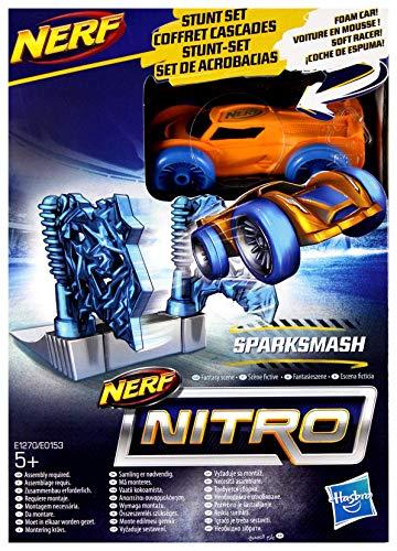 Hasbro Nerf Nitro Soft Racer E1270 Sparksmash - Coche de Juguete